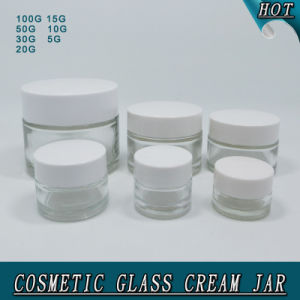 Different Size Clear Glass Cream Jar for Skin Care pictures & photos