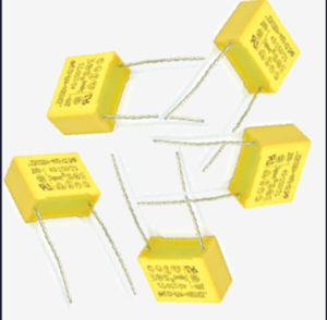 104 K275V Metallized Polypropylene Film X2 Capacitor (TMCF18) Hotsold pictures & photos