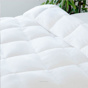 Down Alternative Quilted Comforter with Corner Duvet Tabs - Queen pictures & photos