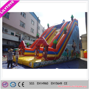 Hot Sale Commercial Cheap Giant Inflatable Slide for Amusement Park