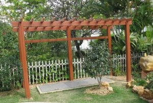 Environmental Protection of The WPC Pergola pictures & photos