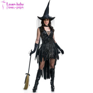Halloween Glamorous Witch Costume L15533 pictures & photos