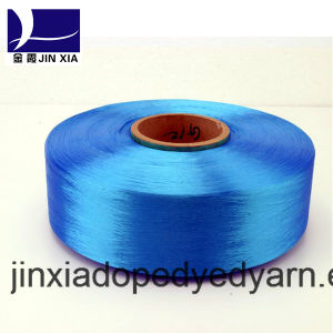 FDY Dope Dyed 400d/96f Filament Polyester Yarn pictures & photos