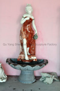 Statue Fountain Marble Fountain Stone Fountain Mf-022 pictures & photos