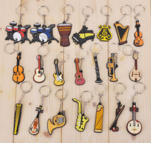Flexible Soft PVC Keychain Custom Promotional Gift Keychain pictures & photos