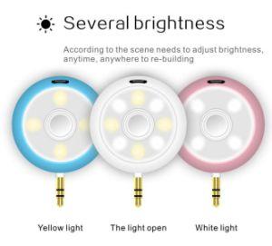 Beauty Speaker Portable Audio Device Fill-in Light Plus Mini Speaker Selfie Helper pictures & photos