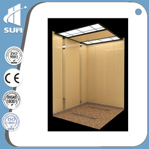 Top Quality Speed 1.0m/S Stainless Steel Passenger Elevator pictures & photos