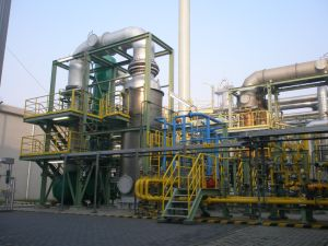 Thermal Oxidizer on Turnkey pictures & photos
