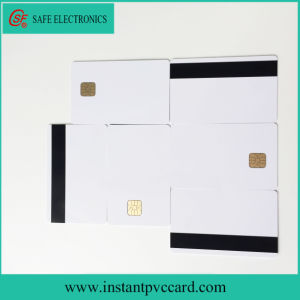 Hot Selling 4428 Chip ID Smart Card with Magnetic Stripe pictures & photos