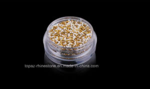 Mini Tiny Caviar Ball Beads 0.8mm Silver Gold 5g Jar Manicure Nail Art Acrylic Tips Decoration (0.8mm silver) pictures & photos