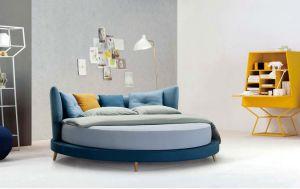 Bedroom Furniture New Elegant Design Modern Fabric Bed (HC857) pictures & photos