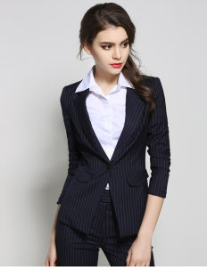 Tuxedo Suits Made in China Design Fashion Ladies Suits pictures & photos