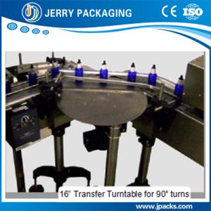 Automatic Double Rail Bottle Accumulating and Loading Turntables pictures & photos