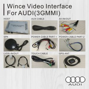 Car Video Interface for Audi A6l/S6/Q7/A8/A4l/A5/Q5/A1/Q3 with GPS Navi Android 4.4/5.1 pictures & photos