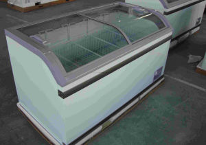 Supermarket Chest Glass Door Combine Freezer with Ce, CB Approved pictures & photos