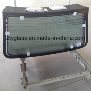 Tempered Rear Windshield Auto Glass From Zty Toughened Glass Factory pictures & photos