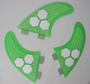 Glassfiber Honeycomb Half Carbon Surf Fin for Surfboard, Sup Board pictures & photos