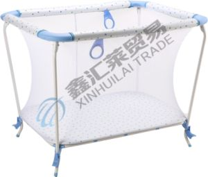 En12227 Approved Foldable Simple Portable Baby Playpen pictures & photos