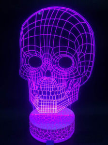 Colorful 3D Effective LED 3D Night Light pictures & photos