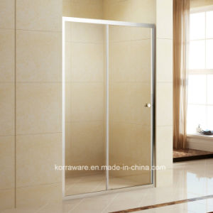 Professional Aluminium Frame 5mm Glass Shower Enclosure with Sliding Door (K-333A) pictures & photos
