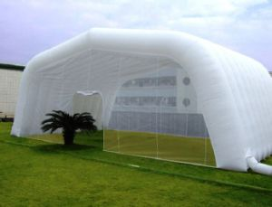 Outdoor Giant White Inflatable Golf Tunnel Tent for Sale pictures & photos