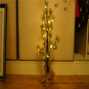 Battery Operated 60cm24LED LED Pine Tree for Living Room/Bedroom/Holiday Decoration pictures & photos