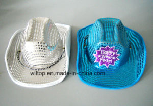 Holiday Assorted Sequins Cowboy Hats (PM062) pictures & photos