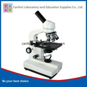 1600X High Quality Student Biological Monocular Microscope for Medical Supply pictures & photos