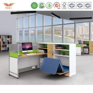 Modern Office Furniture Wooden Cubicle Worstation (H15-0825)