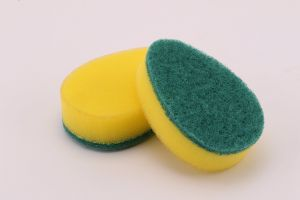 Household Home Kitchen Colorful Shaped Scouring Sponge pictures & photos