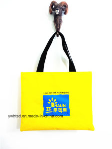 600d Screen Printing Simple Promotional Handbag pictures & photos