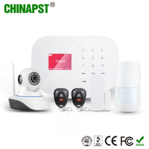Android+Ios APP GSM WiFi Home Alarm with Camera Optional (PST-WIFIS2W) pictures & photos