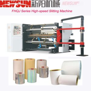 Fhqj Series High-Speed Paper Slitting Machinery pictures & photos