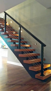 Baking Wire Railing / Baking Black Cable Balustrade pictures & photos