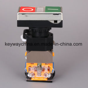 Keyway Illuminated-Square Head Type Push Button Switch (LA118MLS) pictures & photos