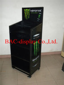 China Factory Direct Sale Monster Energy Metal Display Stand pictures & photos
