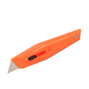 Plastic Retractable Utility Cutting Knives with Eco-Friendly Materials pictures & photos