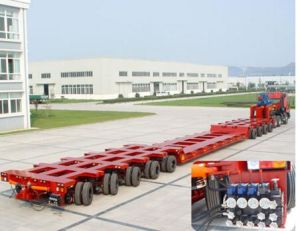 115t Hydraulic Modular Trailer and Semi Trailer pictures & photos