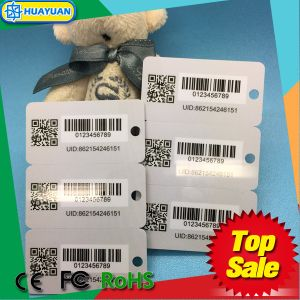 Preprinted 3 in 1 PVC loyalty Key Tag pictures & photos