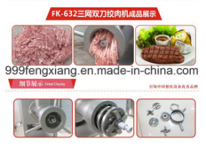 Fk-632 Vertical Double Meat Grinder, Freezing, Fresh Meat Mincer pictures & photos