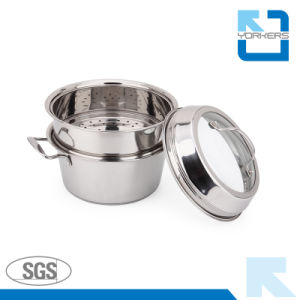 2017 New Style Stainless Steel Steamer Pots/Cooking/Stock/Soup Pots pictures & photos