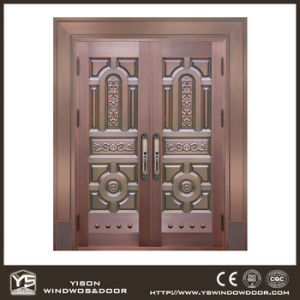 Woodwin New Design Top Quality Handwork Pure Copper Door pictures & photos