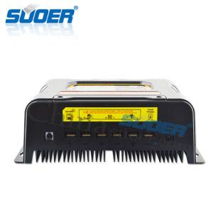Suoer 12V 24V 48V 40A MPPT Solar Charge Controller Solar Controller (SON-MPPT-40A) pictures & photos