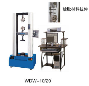 Microcomputer control electronic universal testing machine of WDW series pictures & photos
