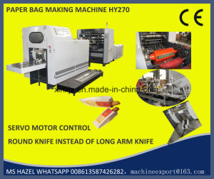 Paper Bread Bag Making Machine Sharp Bottom and V Bottom pictures & photos