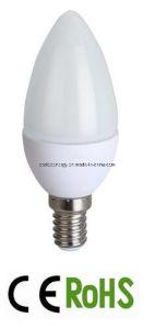 E14 Plastic Plus Aluminum LED Candle Bulb Light pictures & photos