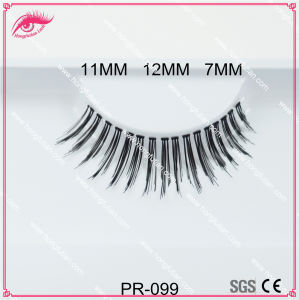 Wholesale Private Label False Eyelashes Strip Human Hair Eyelashes pictures & photos