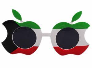 2017 Wholesale Custom Arrow Sunglasses Funny Apple Shade Shaped Party Glasses
