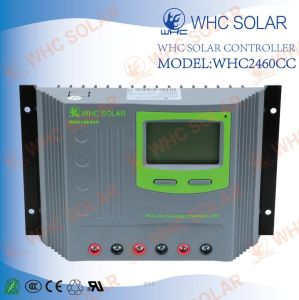Plastics Shell USB 12V/24V 60A PWM Solar Regulator pictures & photos