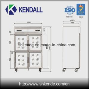 Multi-Door Stainless Steel Kitchen Fridge/Deep Freezer pictures & photos